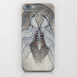 Coalesce art print  iPhone Case