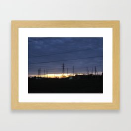 Electric Generation Framed Art Print