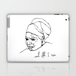 and still I rise Laptop & iPad Skin