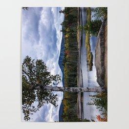 Fall on Moose Bog Poster