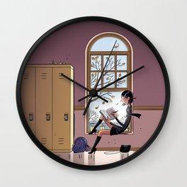 Journal de Karine Wall Clock