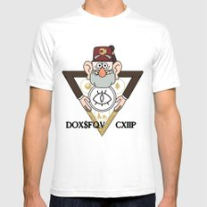 Great Symbol of Stan White SMALL Mens Fitted Tee