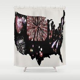 America's Celebration Shower Curtain
