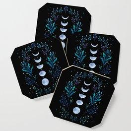 Moonlight Garden - Blue Coaster