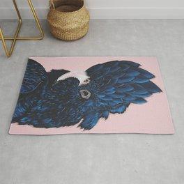 ALVA The Black Cockatoo Rug