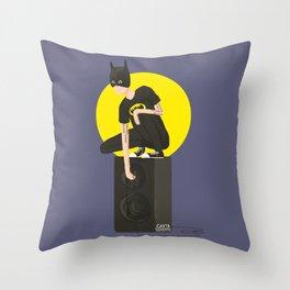 Tegan and Sara: Bategan #2 Throw Pillow