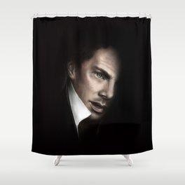 Benedict Painting Shower Curtain
