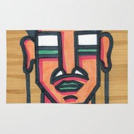 Tribal Portrait Rug
