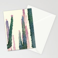 cactus water color Stationery Cards