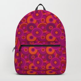 psychedelic pink Backpack