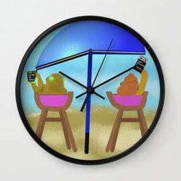 Techno Vices Wall Clock
