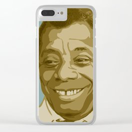 James Baldwin Clear iPhone Case