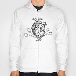Suture Heart (red version) Hoody