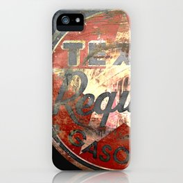 Texan - Vintage Label iPhone Case