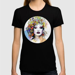 Fantasy Flower Girl T-shirt