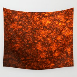 Molten Lava Wall Tapestry