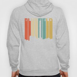 Retro 1970's Style Bluefield West Virginia Skyline Hoody