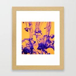 Contrasting Quiet Framed Art Print