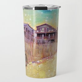Beach Cruiser and Stars Travel Mug
