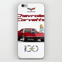 70's Corvette  iPhone Skin