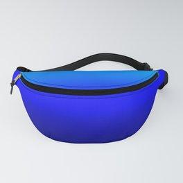 Blue Ombré Fanny Pack