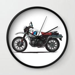 BMW R80GS PD Wall Clock