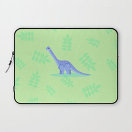 Brontosaurus, There When You Can't Reach the Shelf Above the Fridge Laptop Sleeve