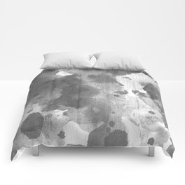 Abstract Watercolor Comforters