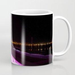 Evening walk in Cannes Coffee Mug