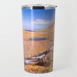 Kirkjufell Snaefellsjokull  Iceland Travel Mug