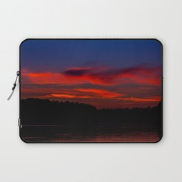 Sunset At The Lake Laptop Sleeve