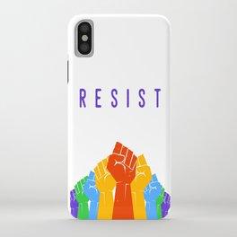 Resist (Pride) iPhone Case