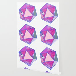 Icosahedron Geometric Shape Constellation Dream Wallpaper