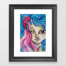 Sea Nymph Framed Art Print