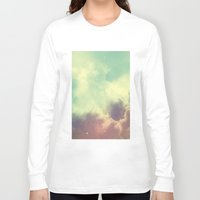 nebula Long Sleeve T-shirts featuring Nebula 3 by ThoughtCloud