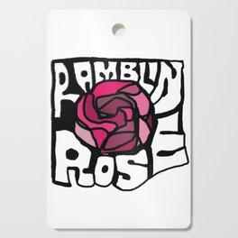 Ramblin Rose Cutting Board