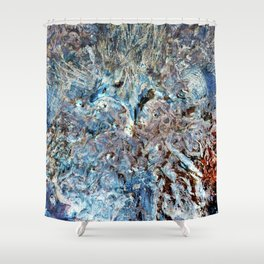 Abstract 79 Shower Curtain