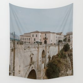 Puente Nuevo Bridge   City of Ronda   Spain Travel Photography Wall Tapestry