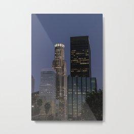 los angeles skyscrapper Metal Print