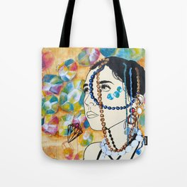 Draped Tote Bag