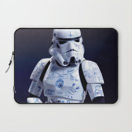 Tattooed Trooper Laptop Sleeve