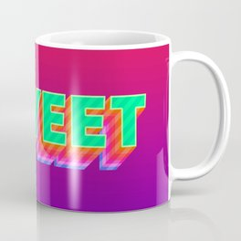YEET Meme Colorful Typography Coffee Mug