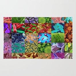 Bacteria Montage Rug