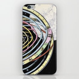 The time of the seasons and the constellations iPhone Skin