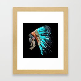Blue Chief Framed Art Print