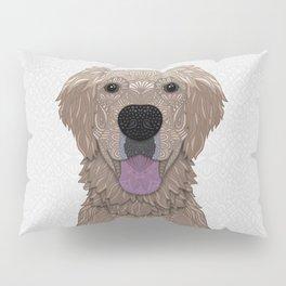 Golden Labrador Retriever Portrait Pillow Sham
