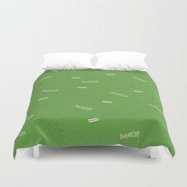 Aquarius Pattern - Green Duvet Cover