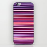 striped iPhone & iPod Skins featuring Striped by Scarlet