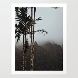 Dark Mornings Art Print
