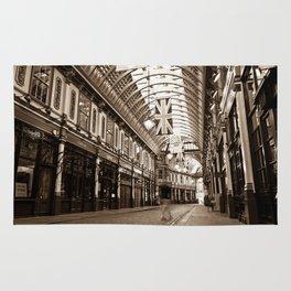 "Leadenhall Market London With "" ghost "" Rug"